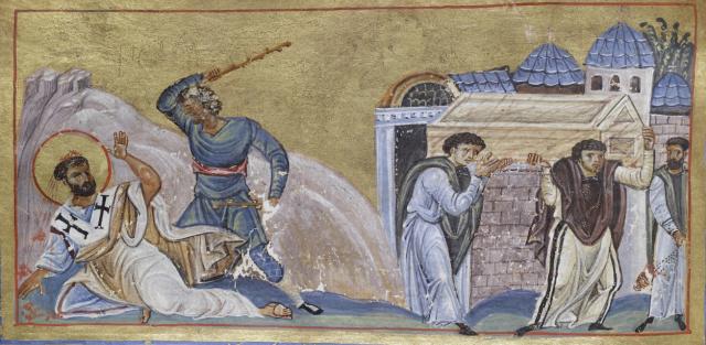 Timothy martyrdom