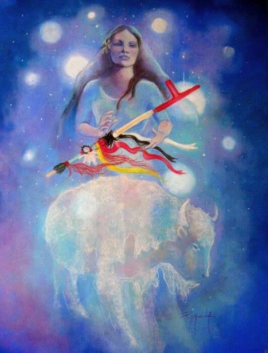 mujer-bufalo-blanco_magicodespertar